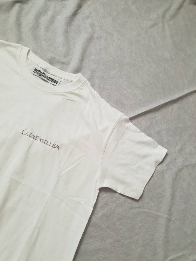 T-shirt Custom embroidery or print