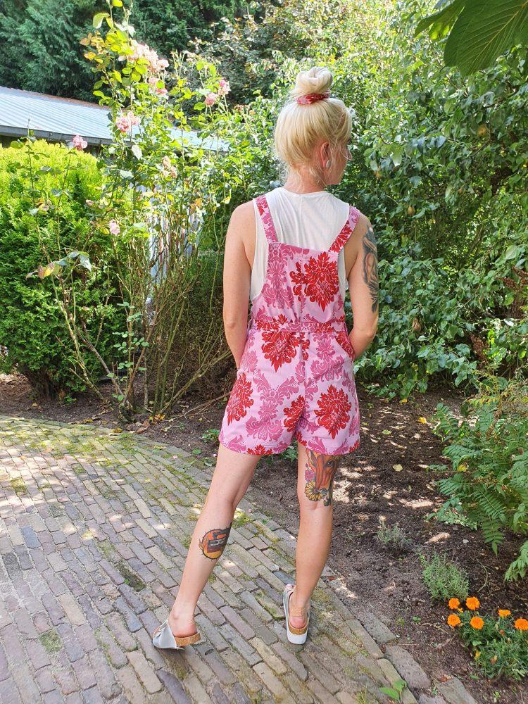 Dungaree shorts Baroque