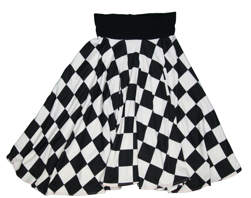 Skirt Hip to be square