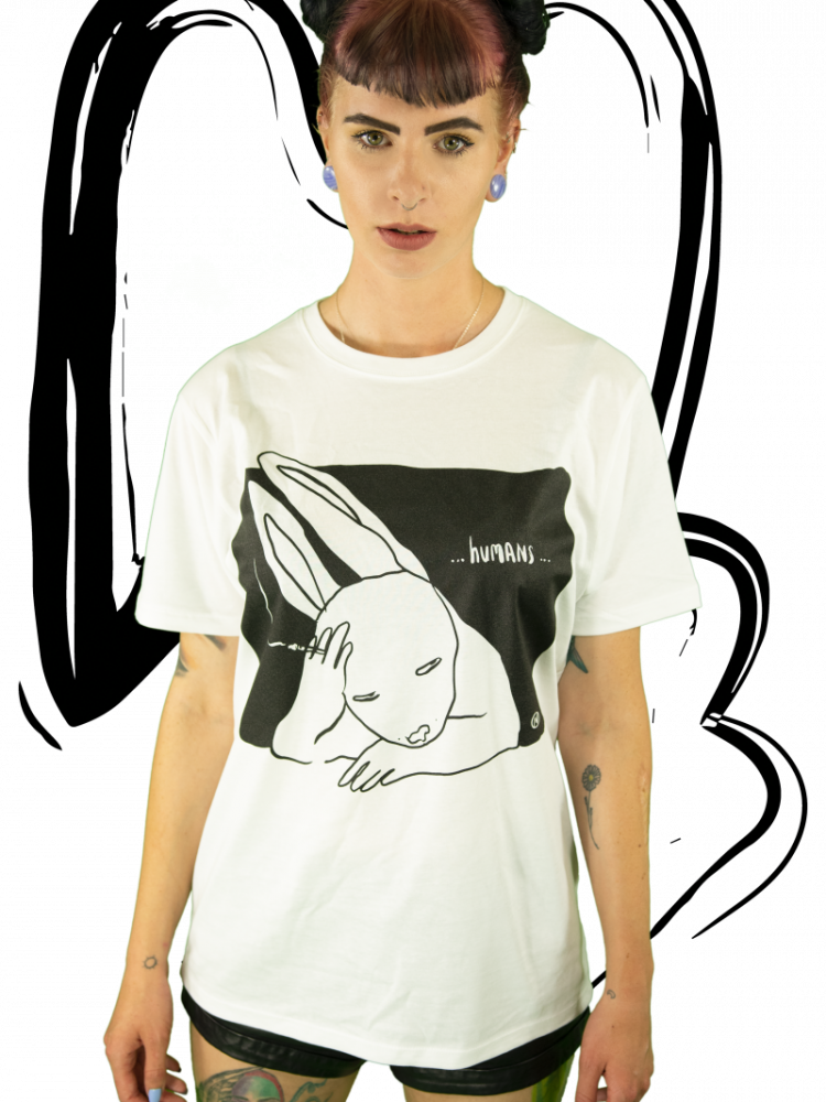 T-shirt Humans WHITE