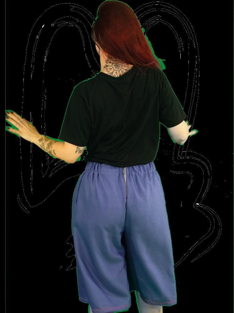 Shorts Preppy purple