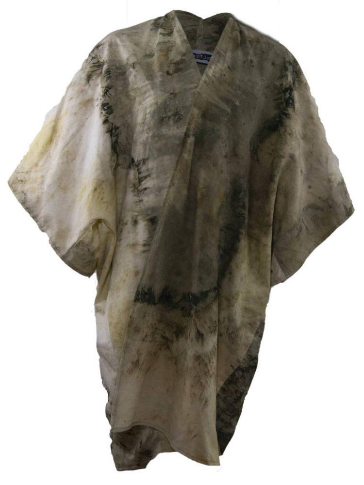 Kimono eco dyed