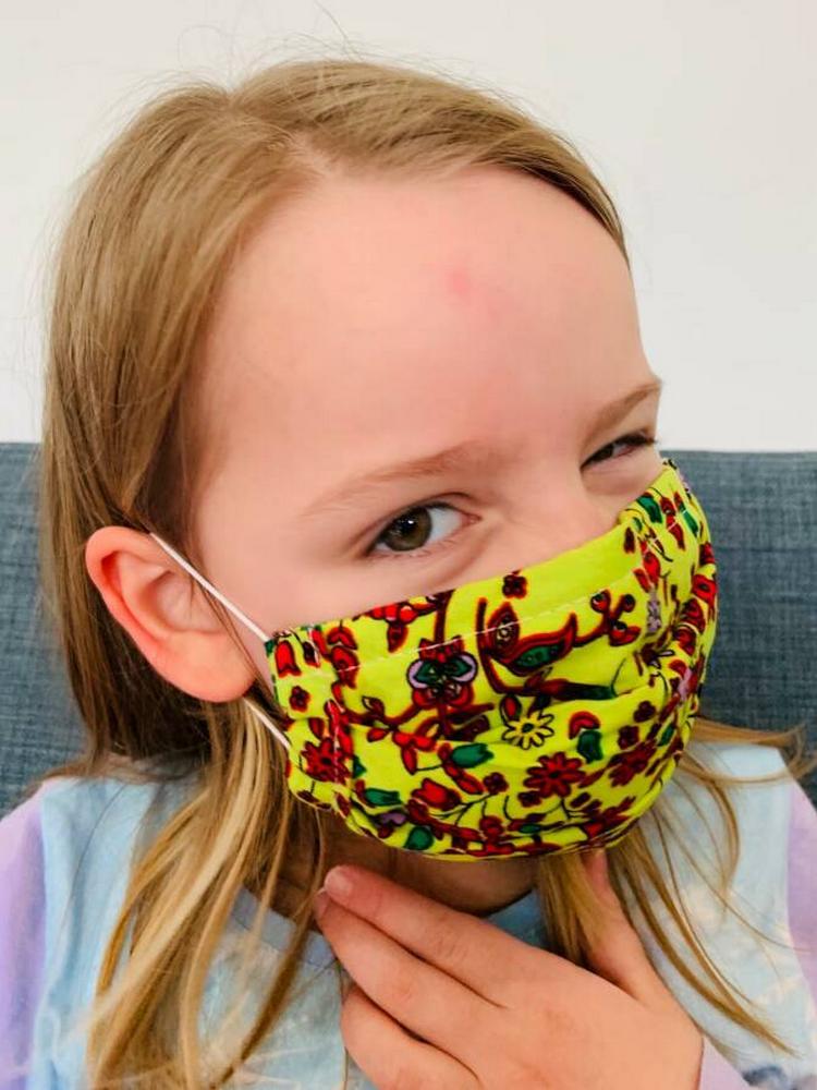 Reusable Facemask Pleats