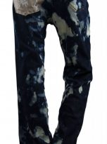 pants splatter blue and white back
