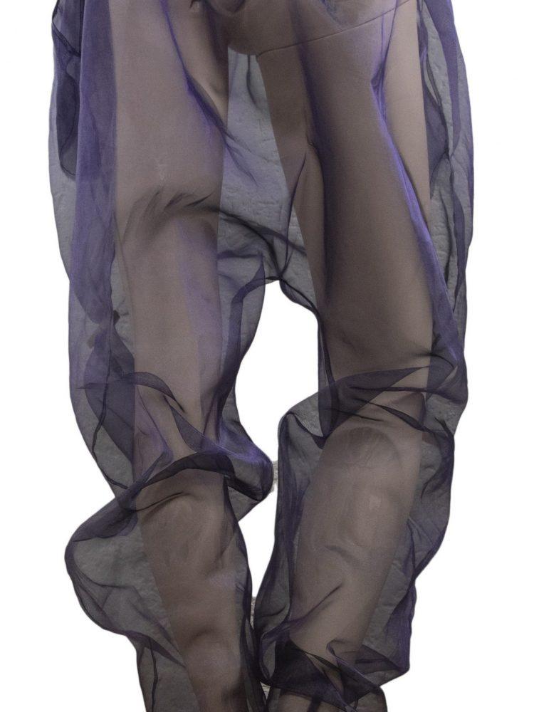 See through harem pants