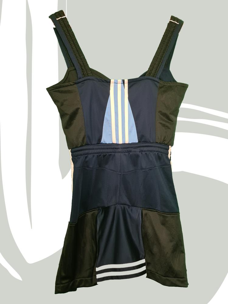 Upcycled chearleader dress