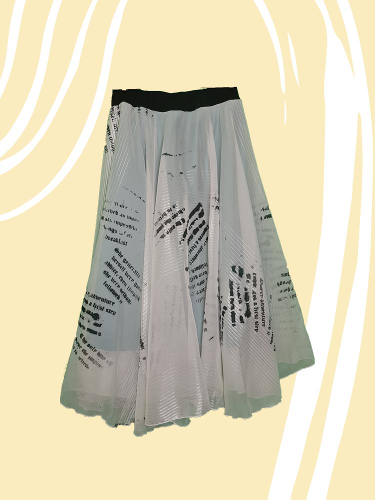 Through The Looking Glass Dress Skirt